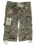 "Pantalone 3/4 ""Air combact"" woodland"