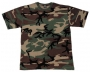 T-shirt US woodland