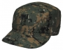 Cappello US BDU digital woodland Ripstop