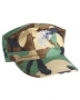 Cappello US BDU logo Marine woodland Ripstop