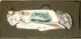 Coltello tascabile 18cm stampa lupo