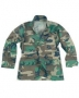 Giacca US BDU ripstop woodland