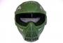 Maschera componibile verde a rete