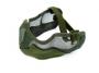 Maschera rete metallica verde