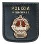 Placca Polizia Locale Milano