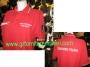 Polo Croce Rossa Italiana rossa manica corta
