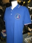 Polo P.A.N. manica corta blu royal