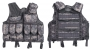 Tactical vest 9 tasche rete AT-digital