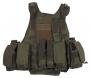 Tactical vest Ranger M.O.L.L.E. verde