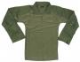 Combat shirt verde con gomitiere