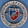 Distintivo di missione M.S.U.