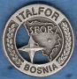 Distintivo di missione SFOR Bosnia