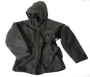 Giacca Parka nera con liner
