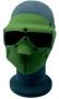 Maschera in neoprene con occhiali