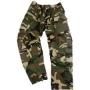 Pantalone US BDU bambino woodland