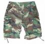 "Pantalone bermuda ""Paratrooper"" woodland"