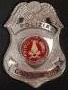 Placca Polizia Giudiziaria -VV.FF.-