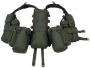 Tactical vest 12 tasche rete verde