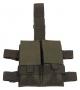 Tasca porta caricatore doppia cosciale M4 M.O.L.L.E verde